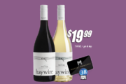 Haywire Pinot Gris & Pinot Noir