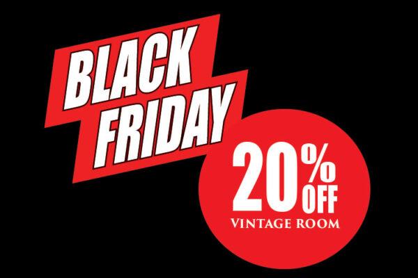 Black Friday Vintage Sale